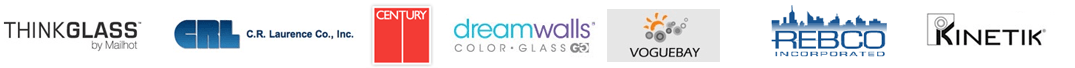 Alexandria Glass Partner Logos